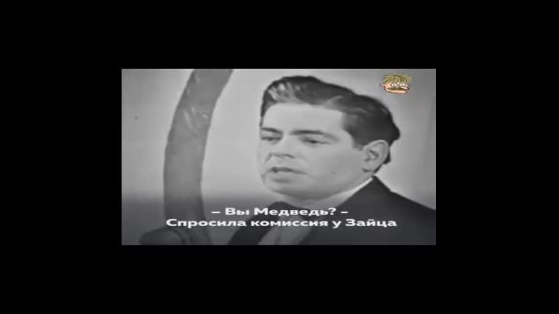 Аркадий Райкин Басня про медведя и зай 0 mp4 360p mp4