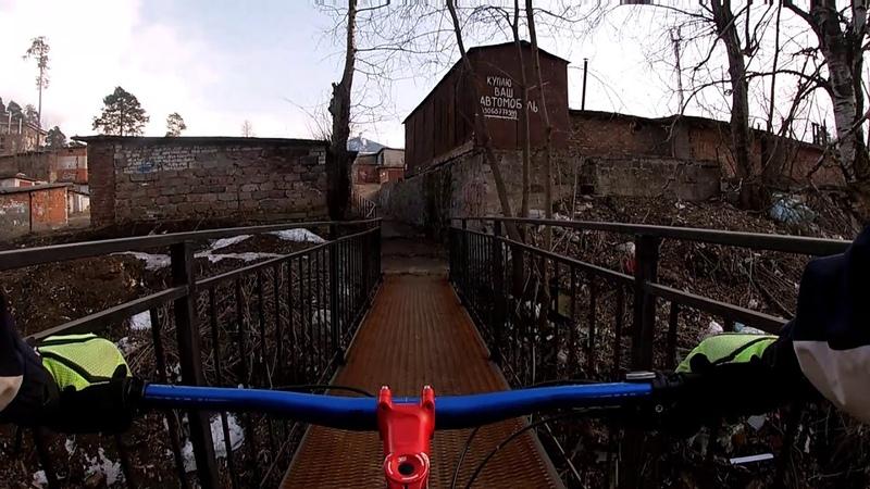 мост через р Пальта г Краснокамск