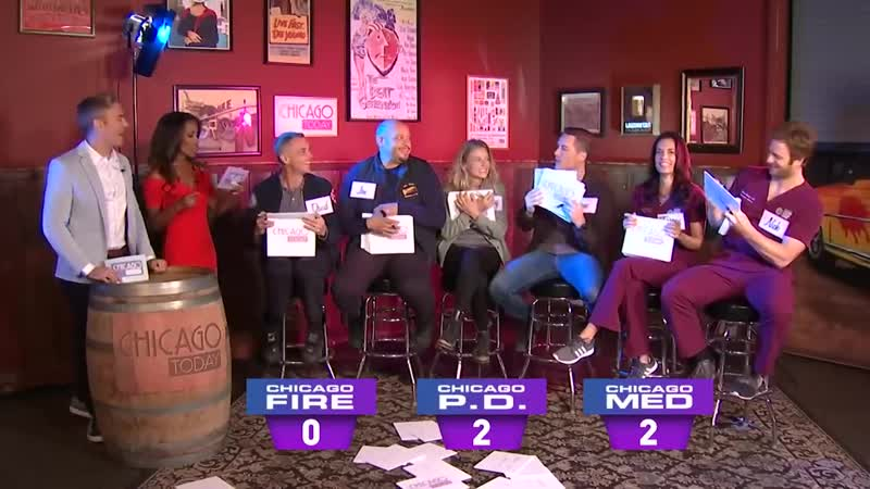 Actors From Chicago Fire, Chicago Med, and Chicago PD Play Newlywed Game NBC Chicago