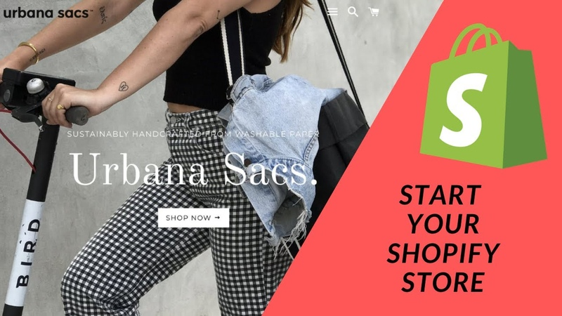 Shopify Tutorial How To Start a Profitable eCommerce Store from Scratch Pt 1 Starting your store