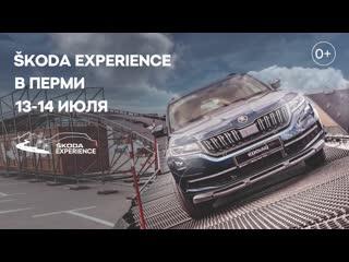 Škoda experience в казани