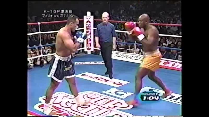 12 2000 08 10 Francisco Filho vs Matt Skelton K 1 World Grand Prix 2000 in Yokohama Semi Finals