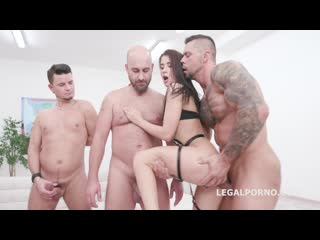 In Control, Nicole Black runs the show with Balls Deep Anal, DAP, Gapes, Talking and Cumshot with Orgasm GIO1327