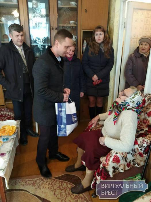 Евдокия Федоровна Прокопчук из Бреста отметила свое 100-летие