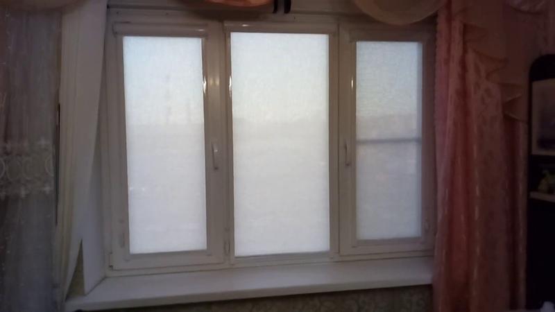 Кассетные рулонные шторы с направляющими, система Уни 2 с тканью Бостон
