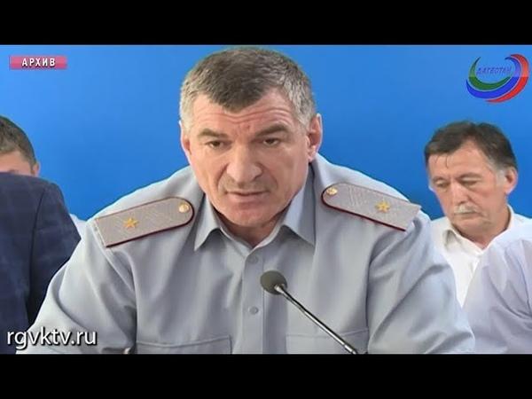 Задержан бывший глава дагестанского УФСИН