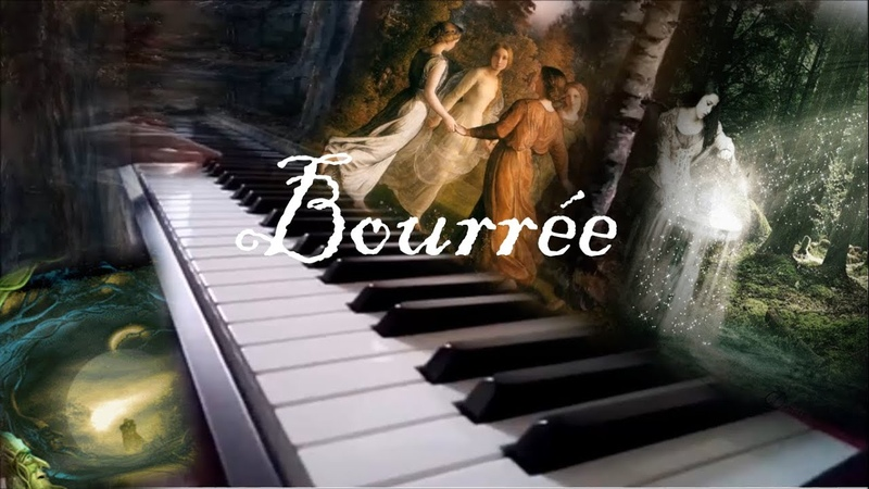 J.S. Bach Bourrée from Suite in E minor for Lute (BWV 996) И.С.Бах Бурре ми минор