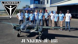 Giant RC Junkers Ju-188 maiden flight