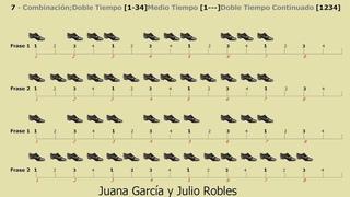 Los Ritmos del Tango - 7 - Combinacion 1- 341---1234 o corridita