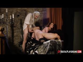 Ella Hughes and Olive Glass - The bewitcher a dp xxx parody episode 4/ Порно пародия ведьмак эпизод 4