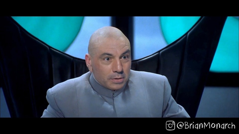 Deepfake - Joe Rogan, Brendan Schaub, Chris D'Elia, Theo Von in Austin Powers Dr Evil