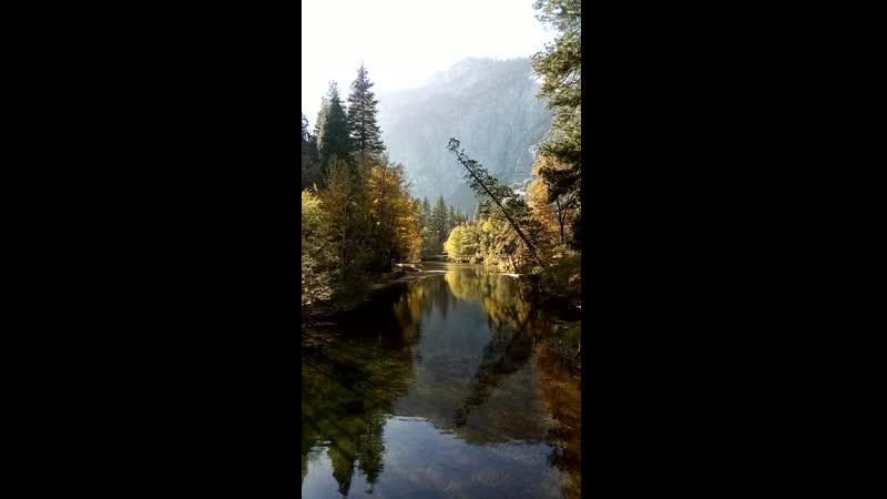 1 Красота с моста Йосемити США