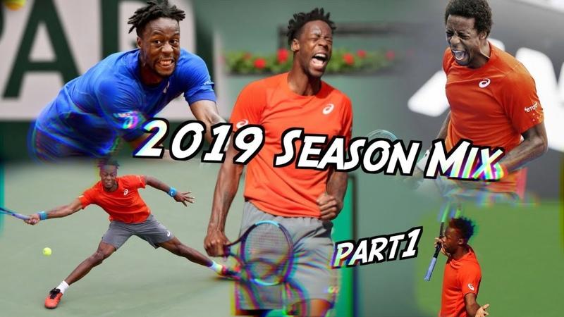 Gaël Monfils | Old Town Road - 2019 Season mix part1ᴴᴰ