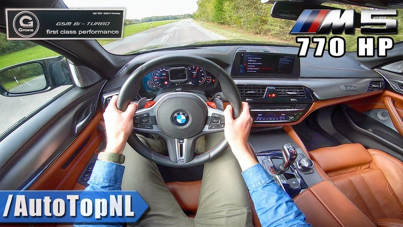 BMW M5 F90 G POWER 770HP FAST LOUD! POV Test Drive by AutoTopNL