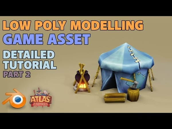 Make a Low Poly Tent | Blender 2.8 | Detailed Tutorial | Part 2