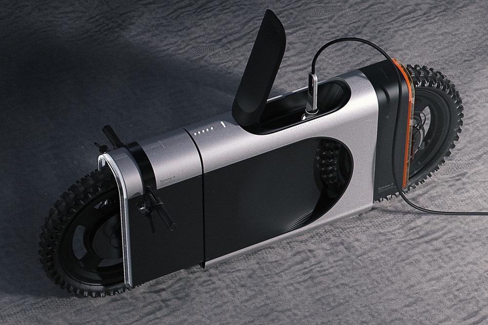 Концепт мотоцикла SLR Electric