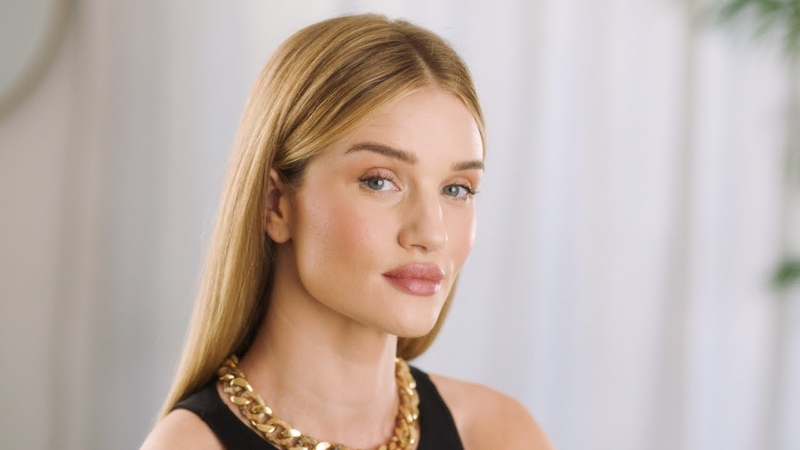 How To Master A Natural Complexion with Rosie Huntington Whiteley Hourglass Cosmetics