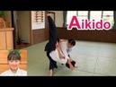 Aikido women - beautiful and dynamic techniques