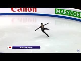 The best quadruple lutz ive ever seen! - YuzuruHanyu FS warm-up - - GPFigure