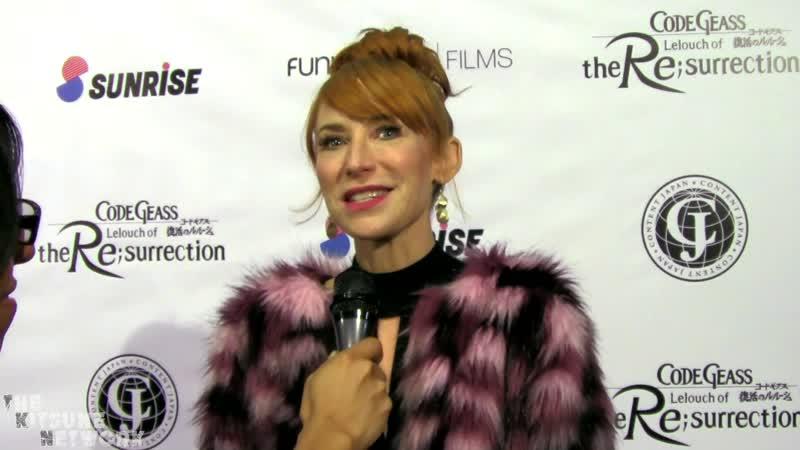 Code Geass Lelouch of the Re surrection U S Premiere Interviews