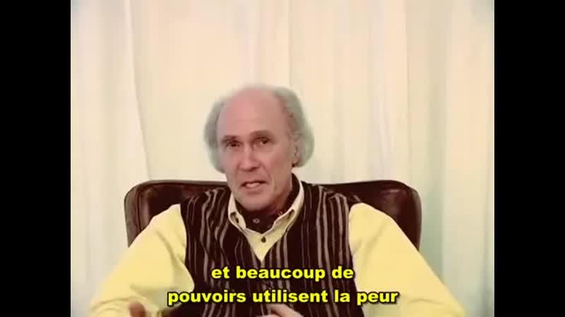 FR Marcel Messing Appel à l'éveil Mars 2010 VOSTFR