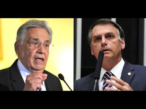 Live do Conde Quem tem de ser comparado a Bolsonaro é FHC