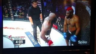 Kimbo Slice vs Dada 5000 final round
