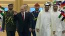 ВАбу-Даби прошли переговоры Владимира Путина снаследным принцем Арабских Эмиратов Мухаммадом Аль Нахайяном. Новости. Первый канал