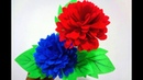 How to make beautiful flower by using old shopping bag DIY Shopping bag flower Best out of Waste