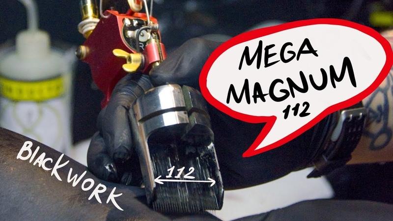Tattoo Magnum 112 needle by abusev tattoo Игла для блэкворка