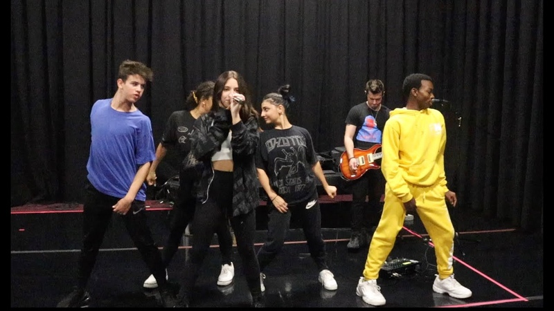 Rehearsals for the FOMO Tour