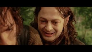Смеагол убивает своего друга Деагола ради Кольца.  Властелин колец -- Возвращение короля