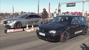 750HP VW Golf 4 1.8 Turbo vs 900HP Mercedes-Benz CLS63s AMG