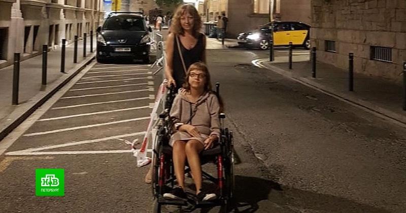 Коронавирус запер петербурженку с дочерью-инвалидом в Испании