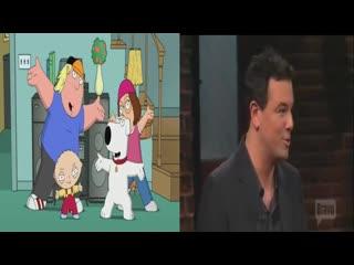 Актеры гриффинов поют главную тему family guy