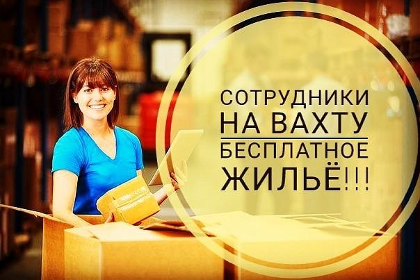 Приглашаем на работу вахтовым методом в Москву и Санкт-Петербург. Треб
