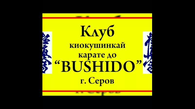 Клуб Киокушинкай Каратэ До BUSHIDO