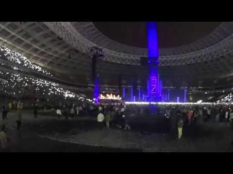 RAMMSTEIN – Engel (B-Stage). Luzhniki, Moscow, Russia, 29.07.2019