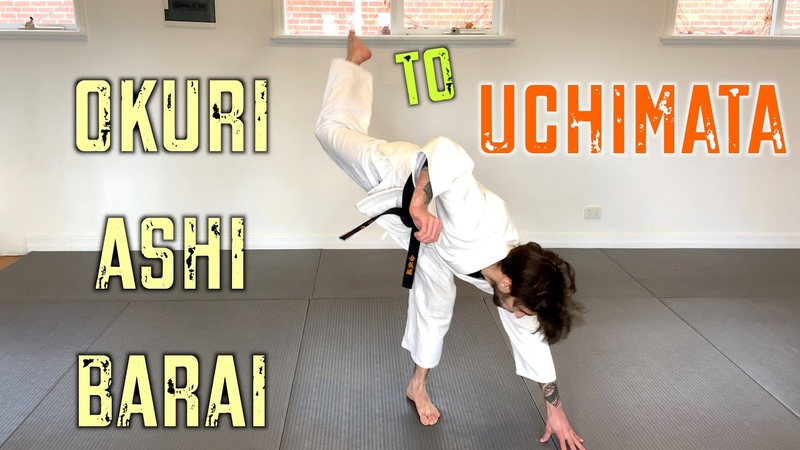 JUDO IN A MINUTE Okuri Ashi Barai to Uchi Mata