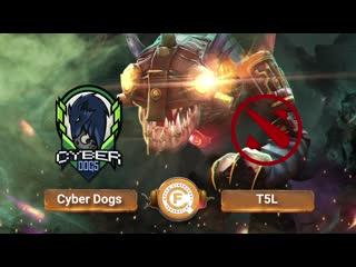 Cyber Dogs vs T5L