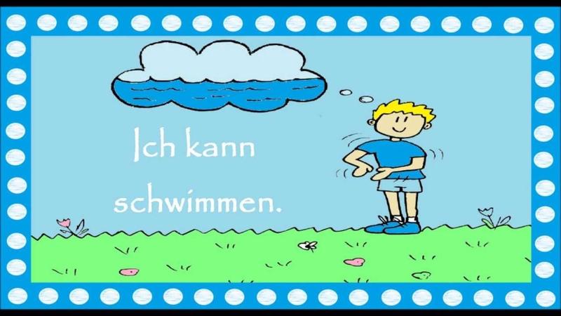 Deutsch lernen 17 einfache Verben im Kontext (für Kinder für Große) traduction перевод