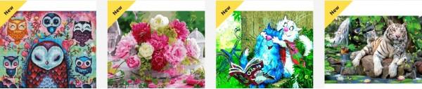 Картины раскраски по номерам  Краснодар