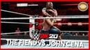 WWE 2K20 Official Gameplay The Fiend Vs John Cena