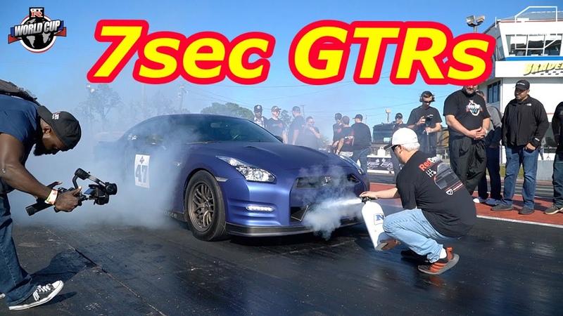 7 sec GTR at GTR WORLD CUP 2020