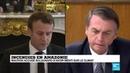 Incendie en Amazonie Macron accuse Bolsonaro d'avoir menti sur le climat