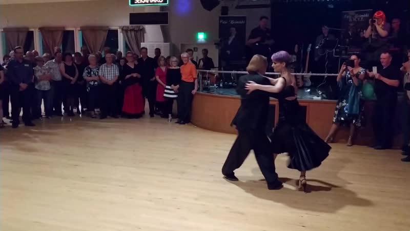 Алексей Барболин Хельга Домашова Выступление в танцевальном зале Напис Финляндия 30 04 2019 2 4