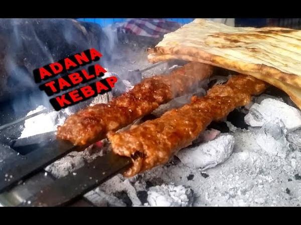 Adana'nın o eski tabla kebapçısını buldukTüfek dürümAli Rıza Usta