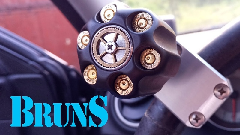You can't buy it in store: exclusive Steering Wheel Spinner Knob For the Trucker