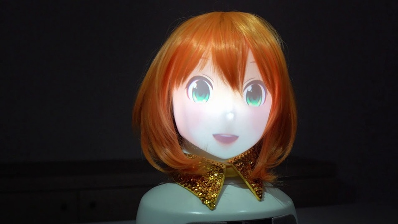 Meet Mirai Komachi an animated character brought to life
