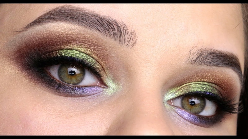 Яркий макияж с пигментами от Тамми Тануки